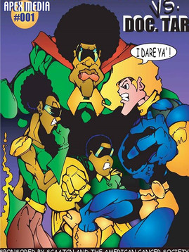AFRO-MAN COMIC BOOK