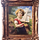 Thumbnail: Antique Oil Painting Girl Sail Boat by Carlson
