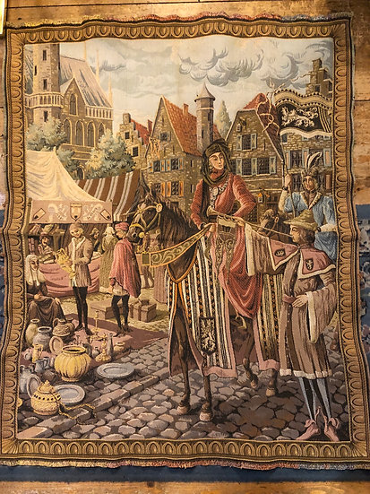 Antique Italy Tapestry