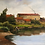 Thumbnail: Luxury Framed Oil Painting Washing at River