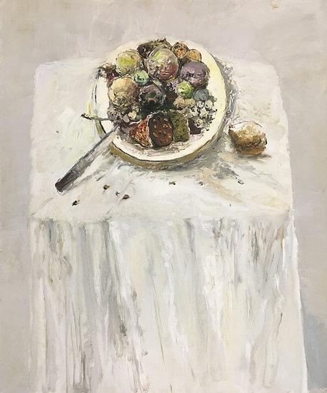 Artist Original Oil Painting Still LIfe 20x24 inch