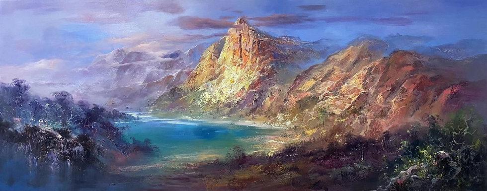 Large work Oil Painting Landscape