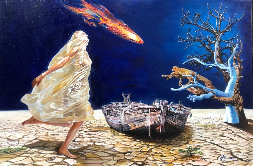 < The Boat for Hope Waiting >