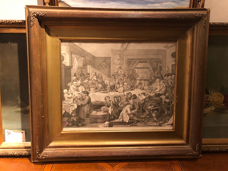 Antique Hogarth Limited Etching Print