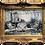 Thumbnail: Impressionism Garden Framed Oil Painting