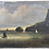 Thumbnail: Antique Oil Painting Unframed Boats Cliff