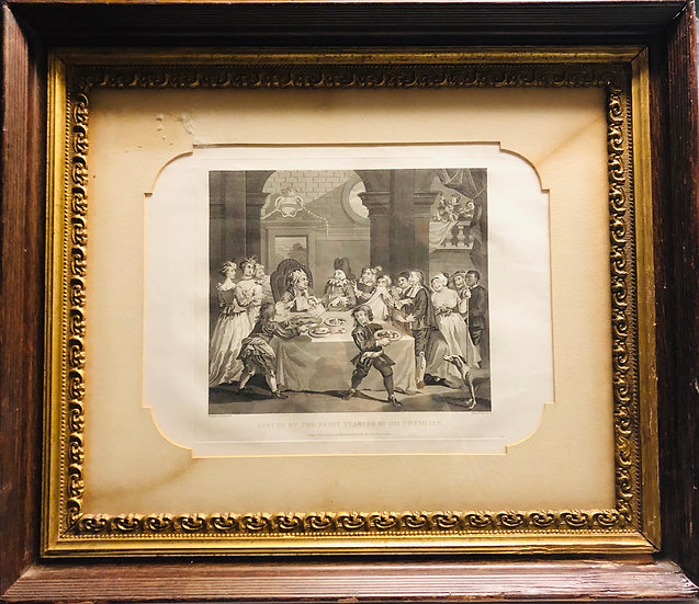 Hogarth Limited Etching Print