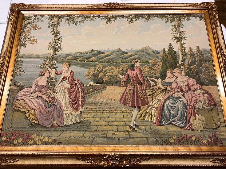 Antique Italy Tapestry Garden