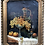 Thumbnail: Antique Oil Painting Wine Feast