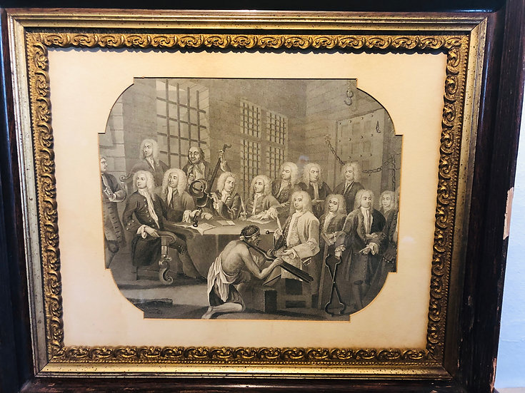 Hogarth Limited Etching Print Grand Justices