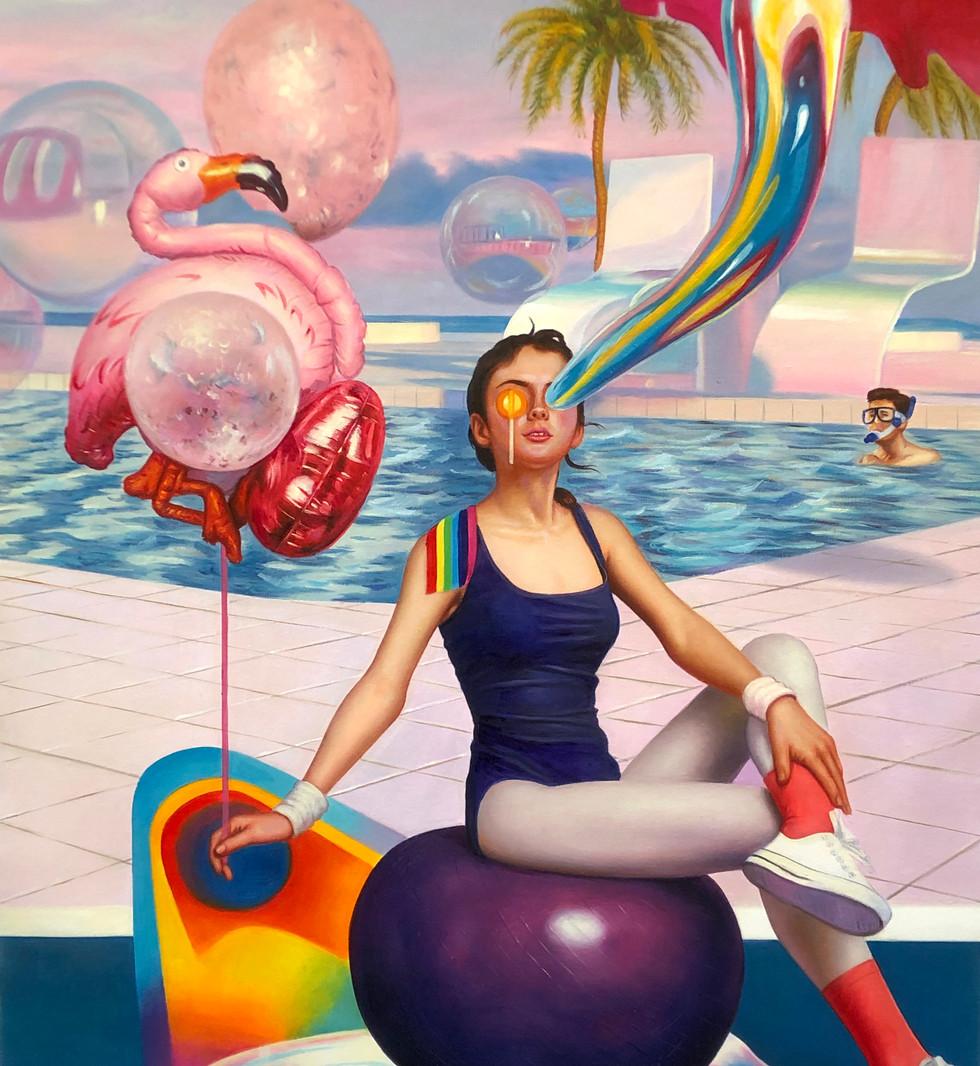 Yoga Lollipop Girl