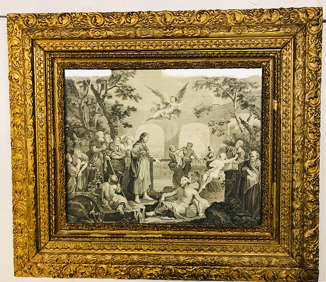 Antique Limited Etching Print  by Hogarth
