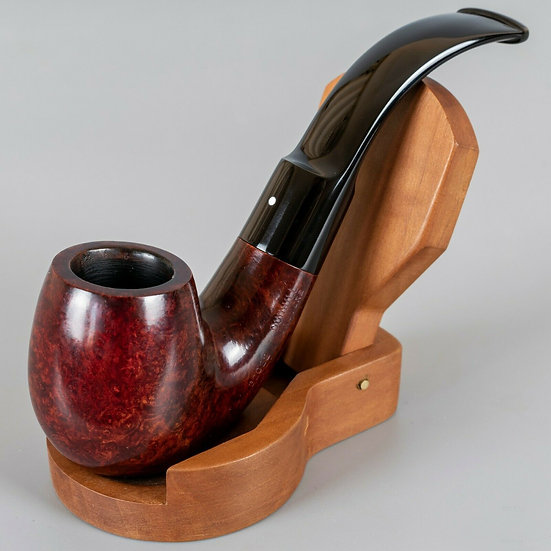 1978 Dunhill Bruyere Smooth Bent Saddle Stem (32022)