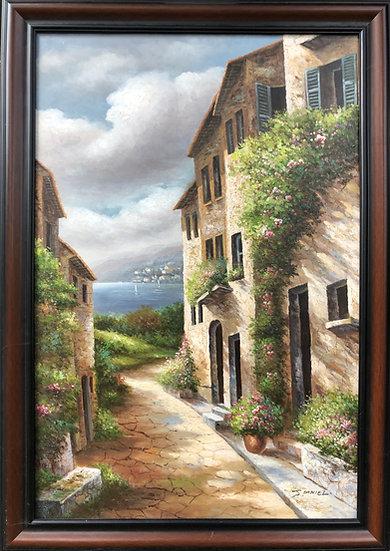 Landscape Provence Oil Painting 2005