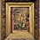 Thumbnail: ANTIQUE OIL ON CANVAS PAINTING, 1894, OF ST. MARTIN CHURCH, IN ANTIQUE GOLD GILD