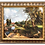 Thumbnail: Framed Oil Painting A Boy Riding a Pony Country Scenery