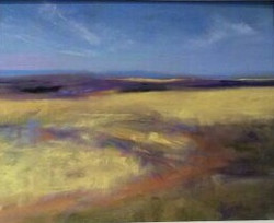 Grassland Australia, pastel