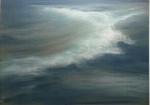 Waves, pastel