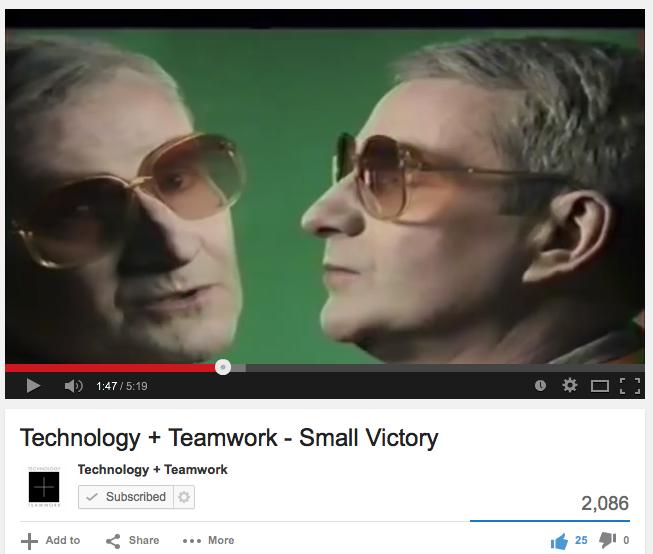 Technology and Teamwork Music Video