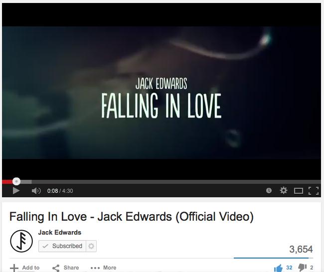 Jack Edwards Music Video