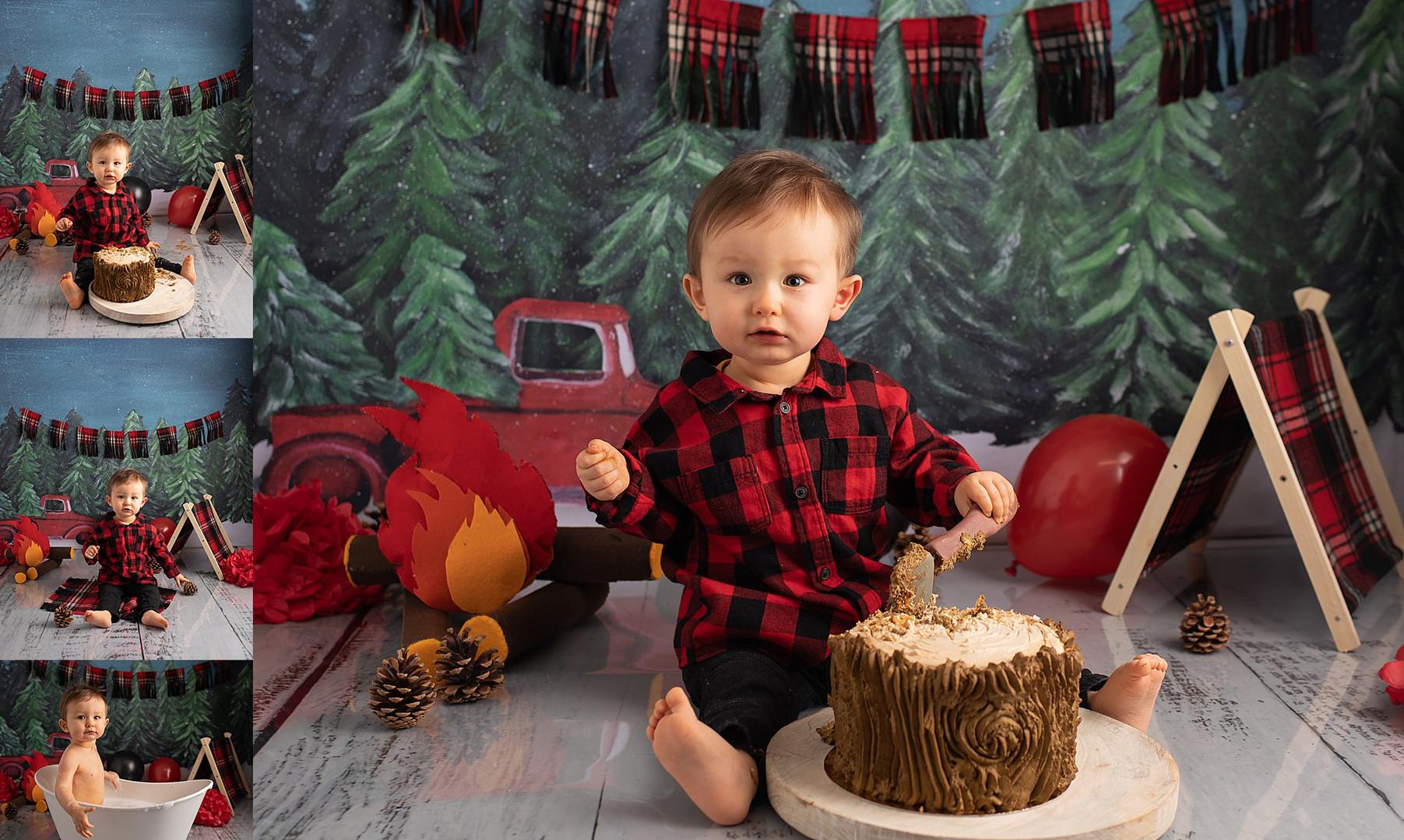 Séance photo premier anniversaire lille - Smash the cake lille, houplines, armentières, bondue, Perenchies