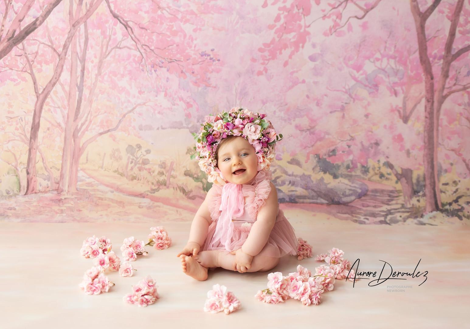 séance photo studio bébé lille Bailleul Estaire Merville