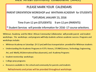 WACC partners with Whitman Academy to provide student workshops