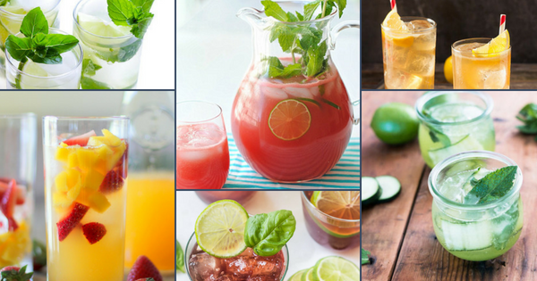 Healthy & Cool Mocktails to Celebrate July's National Refreshments Day!