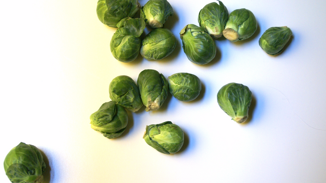 Try Me Recipe: Lemony Garlic Roasted Brussels Sprouts