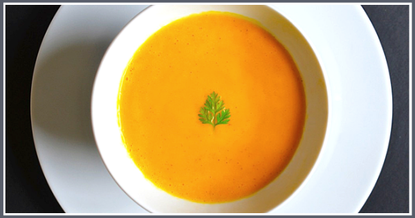 Carrot and Cardamom Soup