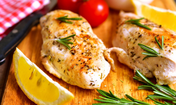 Try Me Recipe: Lemon Herb Roasted Chicken Breasts