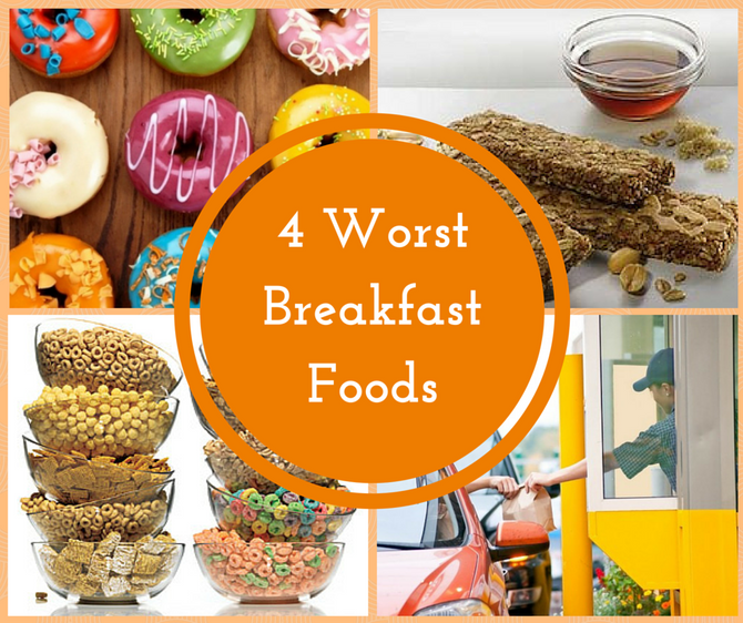 The 4 Worst Breakfast Foods