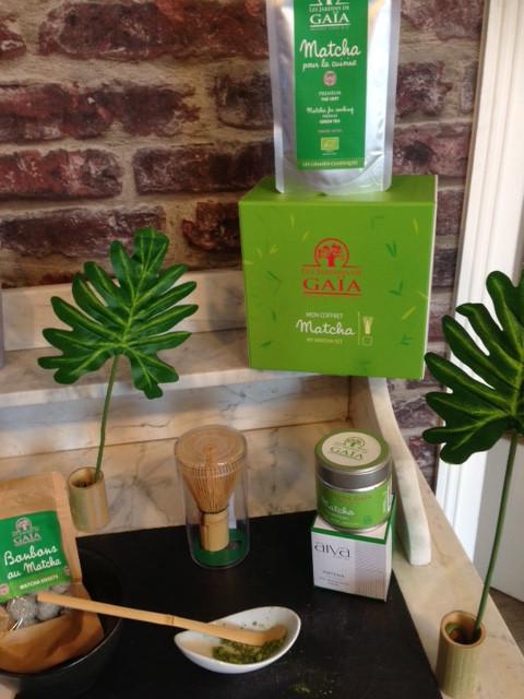 Thé MATCHA : thé vert japonais