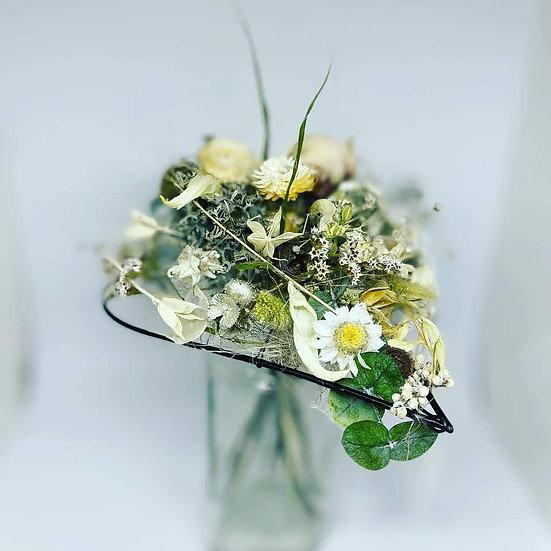 Bouquet coeur blanc