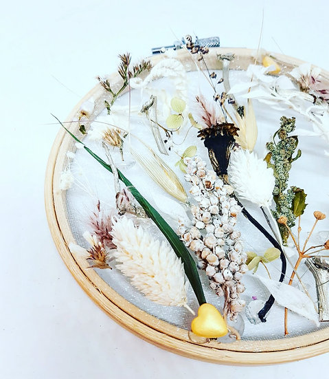 Couronne broderie