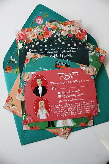 RSVP CARD DESIGN FEE