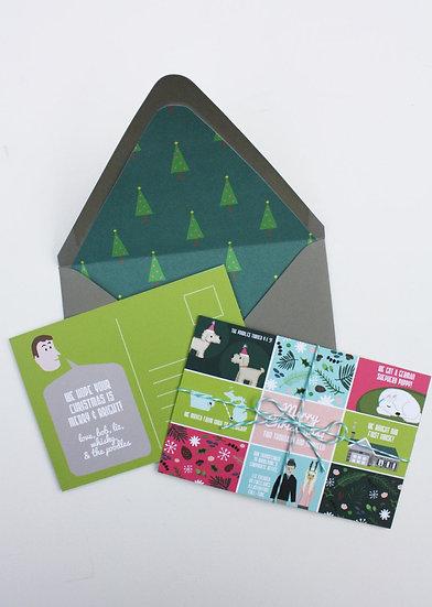 2020 Pre-Order- MOSAIC CHRISTMAS CARD DESIGN FEE