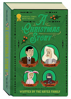 A Christmas Story Custom Illustrated Chistmas Card 2019