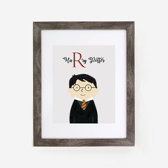 """HARRY POTTER"" 8x10 PRINT (unframed)"