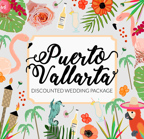 PUERTO VALLARTA DISCOUNTED PACKAGE DESIGN FEE