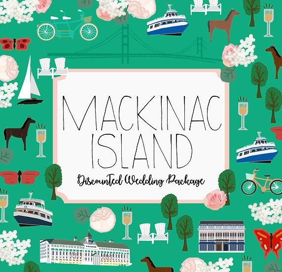 MACKINAC ISLAND DISCOUNTED PACKAGE DESIGN FEE