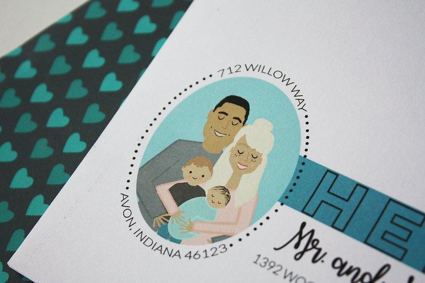 PRE-ORDER CUSTOM FAMILY PORTRAIT DESIGN FEE