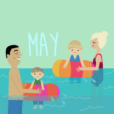 Custom Family Calendar