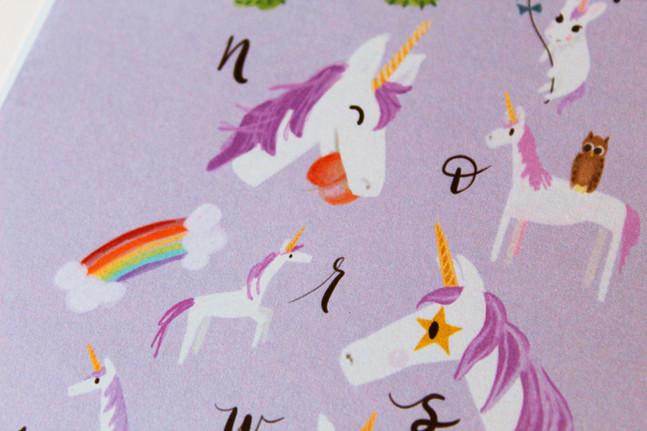 Nursrey Unicorn Artwork