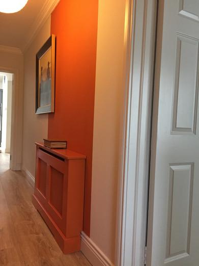 Colour Blocking in Hallway, Semi D