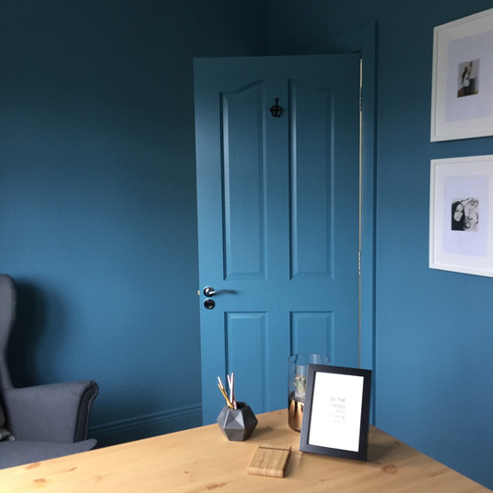 Painted Doors, Home Office