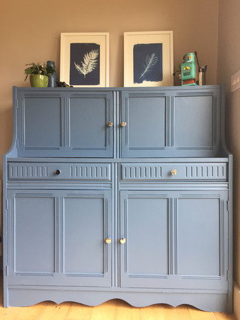 Upcycled Painted Unit