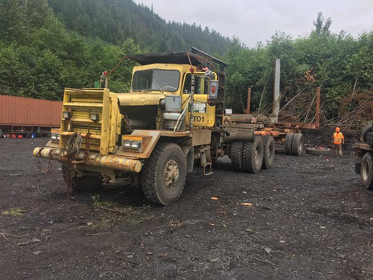 1970 Kenworth 850 Off Hwy Logging Truck