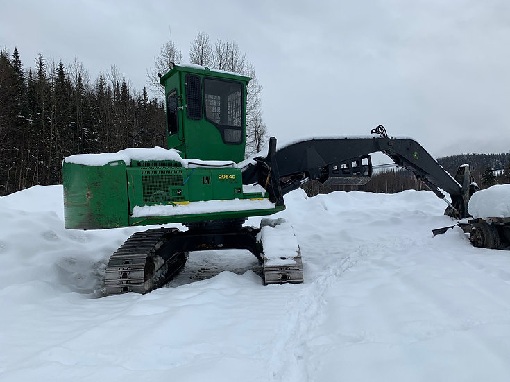 2014 John Deere 2945D Log Loader