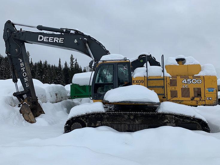 2007 John Deere 450DLC Excavator